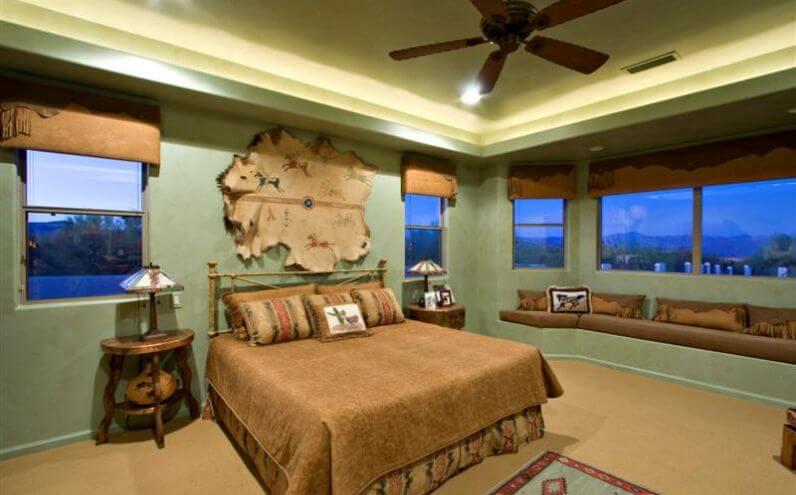 Olson Master Bed & Bath